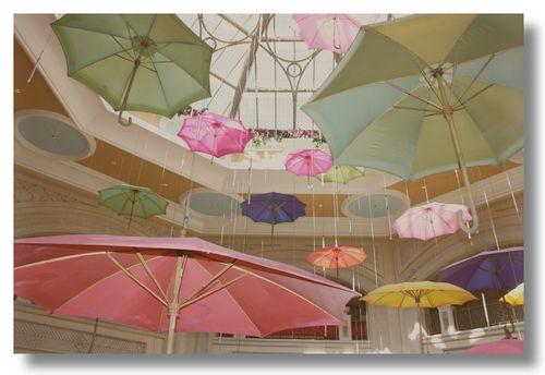 Venetian Umbrellas